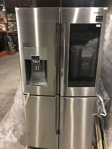 "SAMSUNG 36"" FRENCH 4 DOOR FRIDGE WITH CONVERTIBLE"