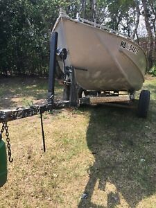 15ft aluminum boat with motor