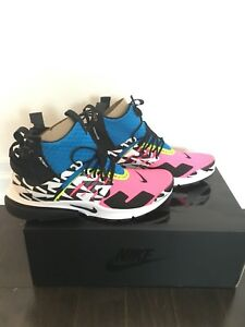 Nike Air Presto Mid Acronym Racer Pink - 11 in hand