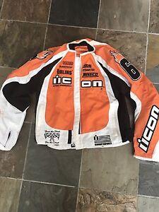 Icon Merc Motorcycle Jacket men's xl
