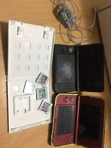 3DS x2 and pokemon game