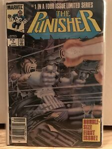 Punisher Comics! Limited Series! Canadian Variants!