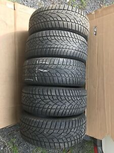 5 - Dunlop, low profile - winter tires