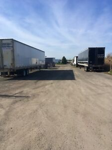 STORAGE FOR TRUCKS AND EQUIPMENT