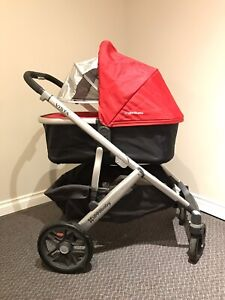 2015 UPPABaby Vista + Rumble (Additional) Seat