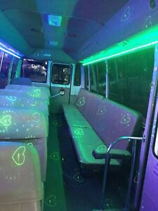 Party Bus Hire, Late night pick ups, BYO Drinks, 11 to 55 seat