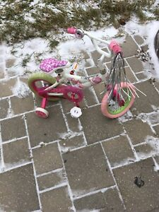 Children's Barbie bike