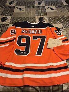 Signed McDavid Pro Jersey