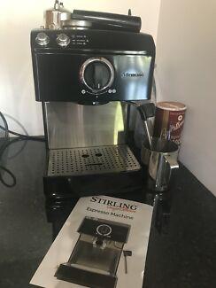 Stirling Designer Espresso Machine