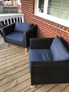 Gluckstein Home Patio Club Chairs