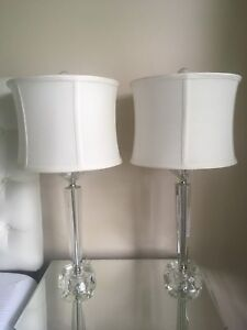 Gorgeous Heavy Crystal Lamps