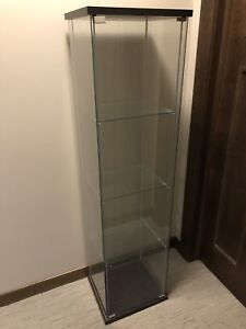 IKEA-DETOLF - glass display case/cabinet