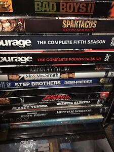 Box of DVDS London Ontario image 5
