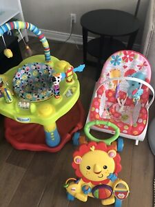 Baby items for sale $75 for all 3