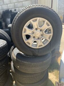 Ford ranger tyres near new with alloy and steel rims, Southport Gold Coast City Preview