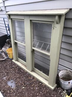 Double sash period boxed window $250
