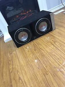 ^** ALPINE TYPE R SUBS & MTX AMPLIFIER!! EXTREMELY LOUD BASS!!