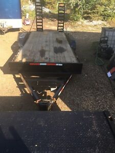 18 foot equipment trailer