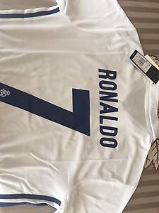 2017 Ronaldo Authentic Real Madrid Long Sleeve Soccer Jersey