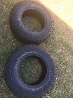 2x bighorn tyres