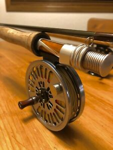 "Greys XF2 Streamflex 9'0"" 4Wt. 4Pc. & Abel Creek2 Reel w Line"
