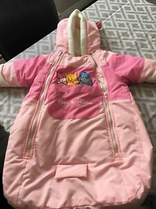 Car seat snowsuit