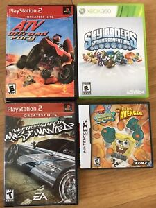 (Video games) - PlayStation 2, Xbox 360, DS, & Nintendo 64