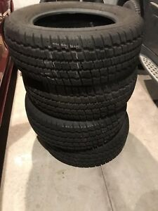 Cooper  winter tires, only used for 1 season!