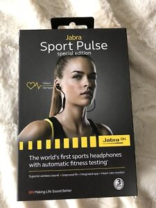 Jabra sport pulse special edition wireless ear buds