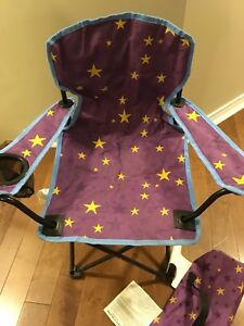Children's camp folding chairs