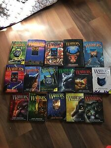 Large Lot of Warriors Books