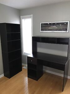 Mint condition desk & bookshelf