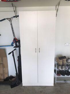 White laminate cupboard
