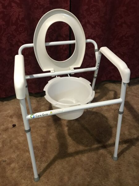 Commode - hardly used (over toilet & portable) | Other Furniture ...
