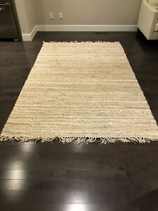"""Natural fiber rug from pottery barn ( 5""""x8"""")"""