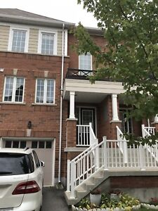 3 bedrooms town house with finished walk out basement