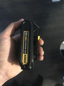 Dewalt Batterie 20 v