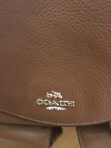 """Coach Leather backpack """"New"""""""