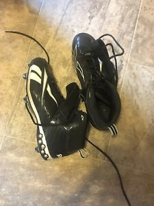 Size 10 football cleats