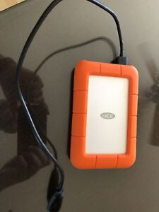 LaCie Rugged 1TB Thunderbolt