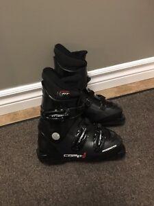 Bottes de ski alpin marque Rossignol et grandeur 20,5