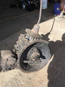 1937 ? ford truck transmission with PTO