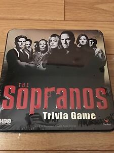 The Sopranos Trivia Board Game