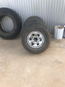 Tyres an rims
