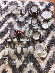 BIG collection of dishes (looking to trade**read below!!)