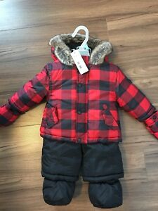 3-6 month snowsuit BNWT