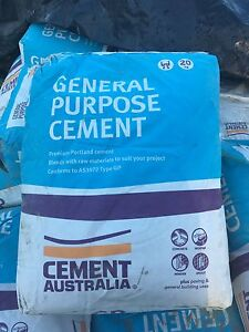 100 x 20kg bags of general purpose cement Byron Bay Byron Area Preview