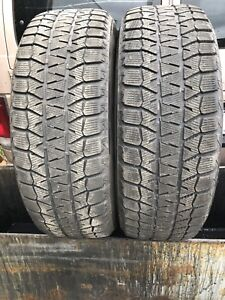 225/65/17 Bridgestone Blizzak winter tires