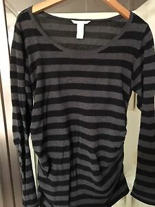 Great ribbed H&M striped long sleeve top