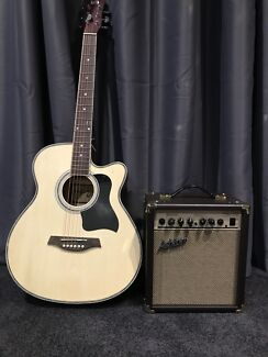 Acoustic Guitar and Amp Clarkson Wanneroo Area Preview